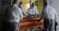 Rusijoje – per 8,1 tūkst. naujų COVID-19 atvejų, mirė 379 žmonės