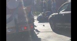 Vilniuje partrenktas vaikas, jis išvežtas į ligoninę