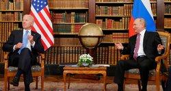 Ekspertas: pagrindinę klaidą Bidenas padarė prieš susitikimą su Putinu