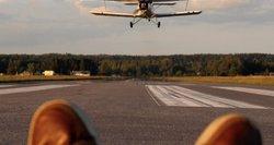 Lėktuvų stebėtojai džiaugiasi: pavyko pagauti neeilinių kadrų