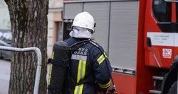 Tragedija Kaune: į avariją patekę ugniagesiai nebespėjo išgelbėti žmogaus