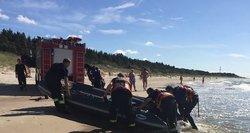 Kuriozas pajūryje: gausios gelbėtojų pajėgos iš jūros traukė vyrą, kuris nė neskendo