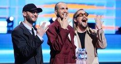 """Šimonytė susitiko su grupe """"The Roop"""": palinkėjo sėkmės šių metų """"Eurovizijoje"""""""