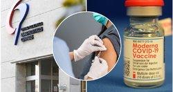 """""""Moderna"""" vakcina paskiepyta moteris vietoje antros dozės sulaukė žinios: """"Vakcinos neturime"""""""