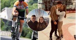 Begalinė Remio meilė lietuvei ribų neturi: dviračiu dėl jos mins 1650 km