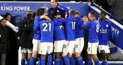 """""""Leicester"""" triumfavo po VAR peržiūros, """"Manchester United"""" ir vėl nelaimėjo"""