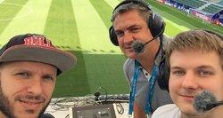 UEFA supertaurės rungtynes iš Talino komentuosiantys lietuviai: tai – didelis įvertinimas