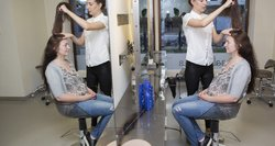 Naujas įvaizdis! Ingrida: niekas nesupranta, ką reiškia turėti ilgus ir storus plaukus