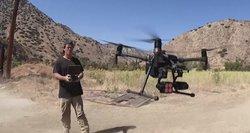 Naudodamasis dronu gelbėja gyvūnus: padeda viena technologija