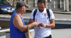 """""""Sevilla"""" trenerio kirtis Lietuvai: profesionalai žaidžia ant natūralios vejos"""