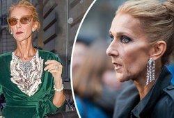 Celine Dion gerbėjai sunerimę – dėl jos liesumo moterį vos atpažįsta