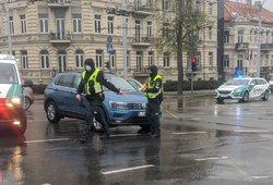 Justinas Jankevičius su šeima pateko į avariją