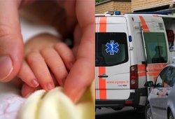 Kelmės rajone miręs 9 mėnesių kūdikis visą dieną buvo be motinos: sugrįžusi rado vos kvėpuojantį