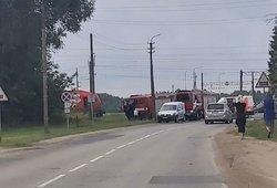 Nelaimė Kauno rajone – traukinys partrenkė moterį