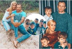 Šiauliečių šeimą likimas apdovanojo triguba laime: istorija sujaudina iki širdies gelmių