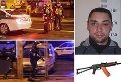 Vilniuje vyko bėglio sulaikymo operacija: spruko su automatu, surakintas antrankiais