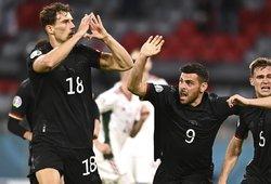 """""""Euro 2020"""": ties bedugne laviravę vokiečiai išplėšė bilietą į aštuntfinalį"""