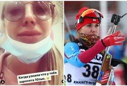 Rusijos sportininkė apsipylė ašaromis išvydusi savo atlyginimą rubliais
