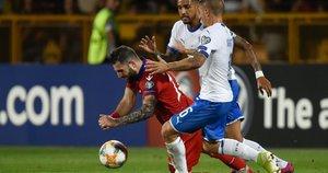 Rungtynių akimirka: Italija-Armėnija (nuotr. SCANPIX)