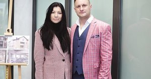 Andrius Rimiškis su žmona Vaida (nuotr. Organizatorių)