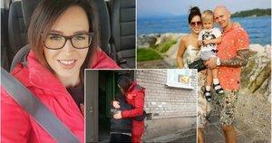 D. Šmitę televizijos žiūrovai yra įpratę matyti kaip gelbėtoją, tačiau namuose ji mama ir nuosavo verslo kūrėja  (nuotr. asm. archyvo)