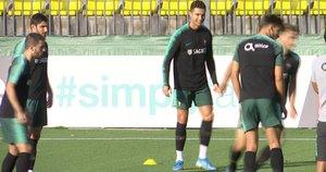Christiano Ronaldo Lietuvoje (nuotr. stop kadras)
