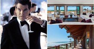 Pierce Brosnan namai Malibu (tv3.lt fotomontažas)
