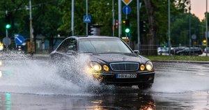 Lietus (nuotr. Fotodiena/Justinas Auškelis)