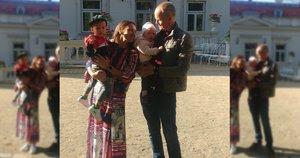 Justina su šeima  (nuotr. asm. archyvo)