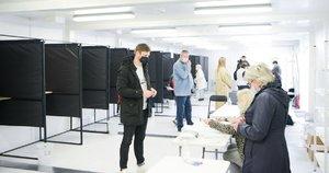 Balsavimas (nuotr. Fotodiena/Justino Auškelio)