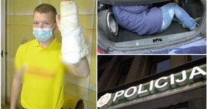 Nusilengvinti nutaręs Mindaugas buvo sugrūstas į pareigūnų bagažinę: akistatos nepamirš niekada  (tv3.lt koliažas)