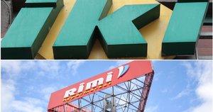"""""""Rimi"""" ir """"Iki"""" (TV3 koliažas)"""