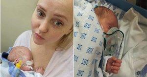 """Klaipėdietė po gimdymo neteko vieno iš dvynių: """"Tikiu, kad jam danguje geriau"""" (nuotr. asm. archyvo)"""