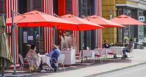 Lauko kavinė (nuotr. Fotodiena/Justino Auškelio)