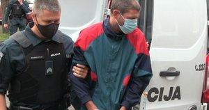 Teisme – dviejų moterų nužudymu kaltinamas vyras: aiškėja detalės apie nelaimę (nuotr. stop kadras)