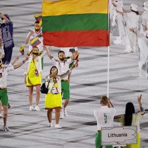 Įspūdinga šventė, kurios dalimi yra ir Lietuva: Tokijo olimpinės žaidynės oficialiai prasidėjo!