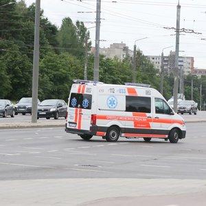 Vilniuje susidūrė mažiausia 3 automobiliai, apsunkintas eismas