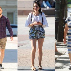 Vilniaus gatvės tapo podiumu: praeiviai demonstruoja vasarišką stilių