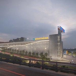 Vilniuje statomas naujas prekybos centras, tačiau darbų vykdytojai jau sulaukė baudų