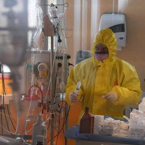 Kauno klinikinės ligoninės slaugytojai nustatytas koronavirusas