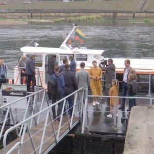 Keliaujantiems į pajūrį – pirmasis reisas iš Kauno laivu