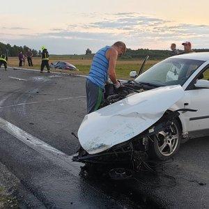 Avarija kelyje Kaunas–Marijampolė–Suvalkai: aiškėja detalės, kelias uždarytas