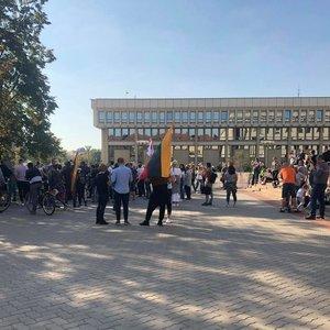 Visi per mitingą ir po mitingo Vilniuje sulaikyti asmenys yra paleisti