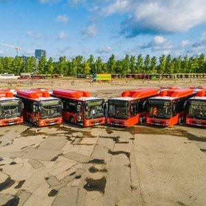 Vilniuje kursuos 50 dujinių autobusų
