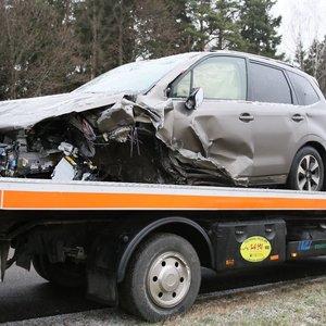 Prezidento patarėjas Žukas pateko į avariją