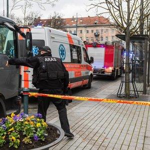 Sujudimas sostinėje: pranešta apie apnuodytus laiškus ir sprogmenis