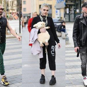 Gatvės mados: pamatykite įmantrius vilniečių bei miesto svečių drabužių derinius