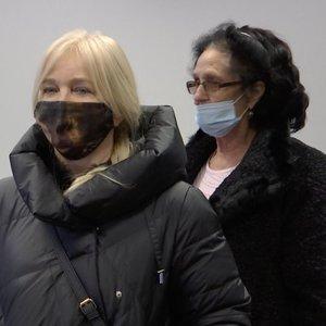 Išgirdęs teismo sprendimą Henrikas Daktaras jį palydėjo replika, jo žmona ir mama – liūdi