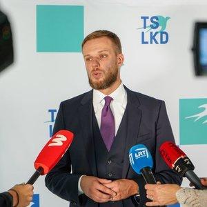 Gabrielius Landsbergis apie Lietuvos sankcijas Baltarusijai: man gėda, kad tik tiek padaryta