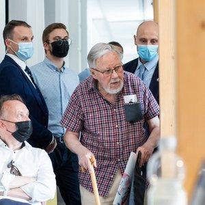 Vytautas Landsbergis: prašantys prieglobsčio turėtų pasirašyti, kad padarė nusikaltimą